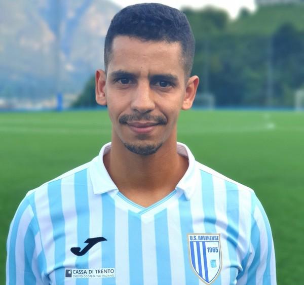 Kamal Addi (Ravinense) salterà il match con la capolista Rovereto