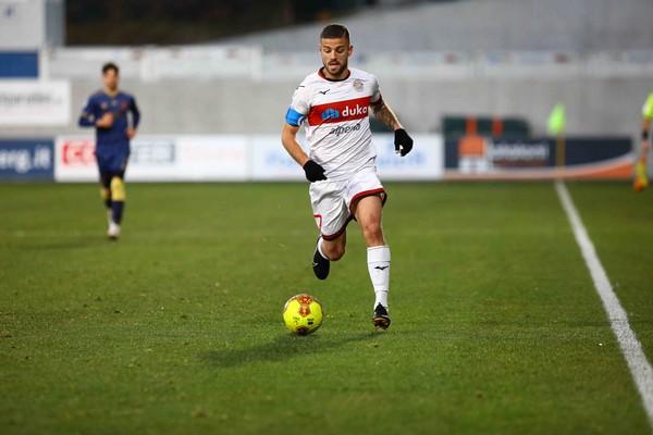 Casiraghi, autore del primo gol del Südtirol