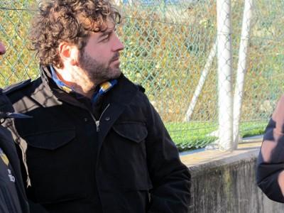 L'allenatore Lorenzo Rizzoli
