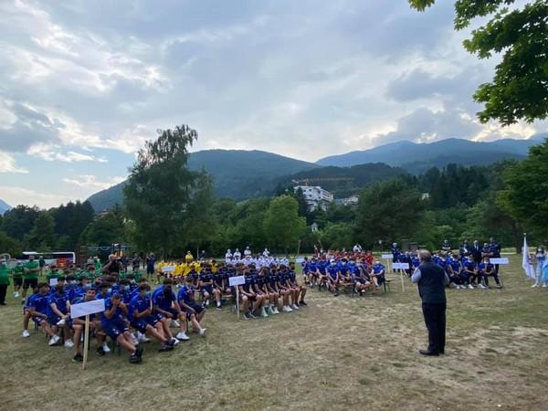 L'inaugurazione ufficiale del Torneo