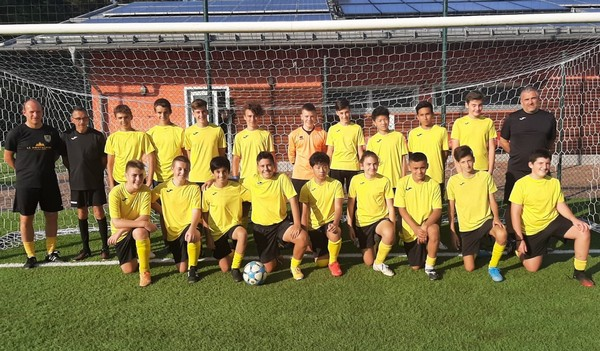 Il gruppo under 15 del Comano Terme Fiavé