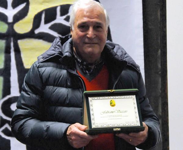 In occasione del nostro Natale Sportivo 2015, la società aveva voluto ringraziare ufficialmente Fabiano Vaccari per il suo prezioso e instancabile contributo