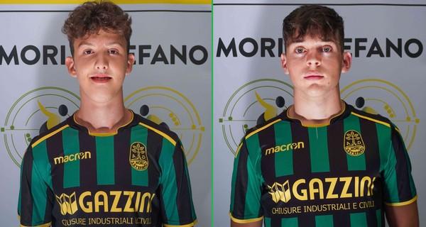 Daniel Carotta e Davide Fiorini, giovani talenti lagarini cresciuti nel Chievo Verona