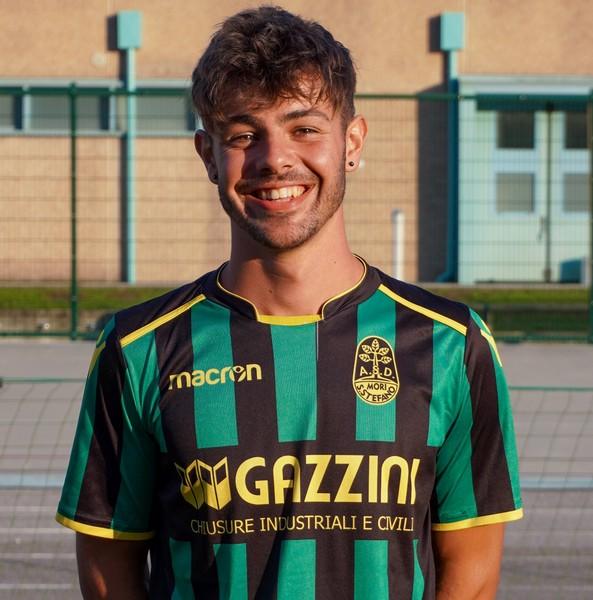 L'incornata di Daniel Pedrotti non è stata sufficiente per rimontare il Bozner