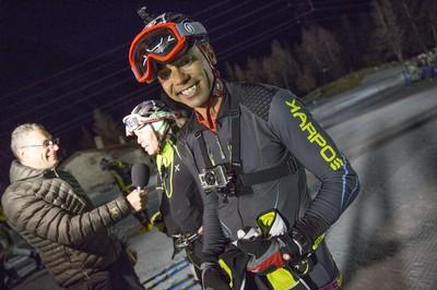 Cristian Zorzi con Cappelletti inviati di Rai Sport 1