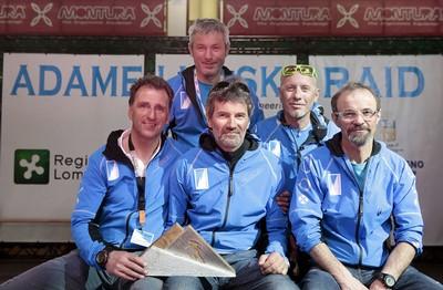 Lo staff dell'Adamello Ski Raid