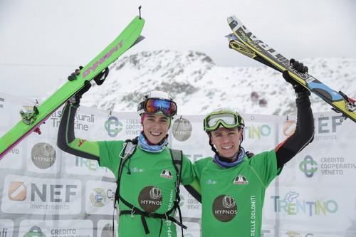 Enrico Loss e Davide Magnini