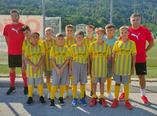 La squadra del Nogaredo Yellow al Pulcino d'Oro