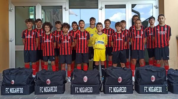 I Giovanissimi del Nogaredo alla Ravenna Cup