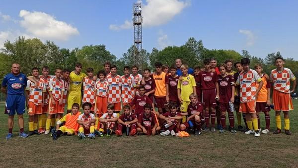 I Giovanissimi di Nogaredo e Torino alla Ravenna Top Cup