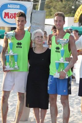 I beacher trentini Tiziano e Fabrizio Andreatta