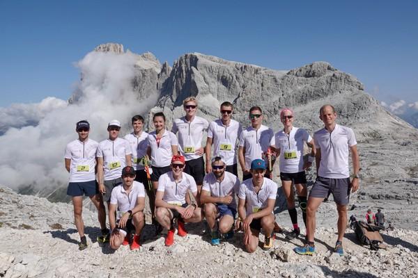 Il team Svizzera presente alla Rosetta Verticale Trail Run
