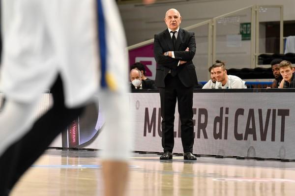 Il coach Emanuele Molin