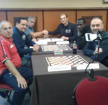 L'incontro tra le squadre di Mori e di Bergamo, vinto da quest'ultima