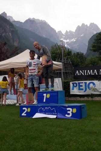 Alessandro sul podio di cat.36