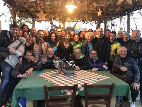 Gruppo in Agritur