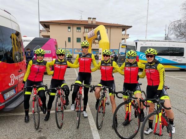 La squadra del Breganze con Andrea Casagranda, terza da destra