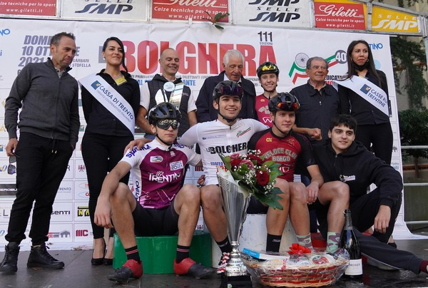 I ragazzi del Vc Borgo sul podio della Bolghera