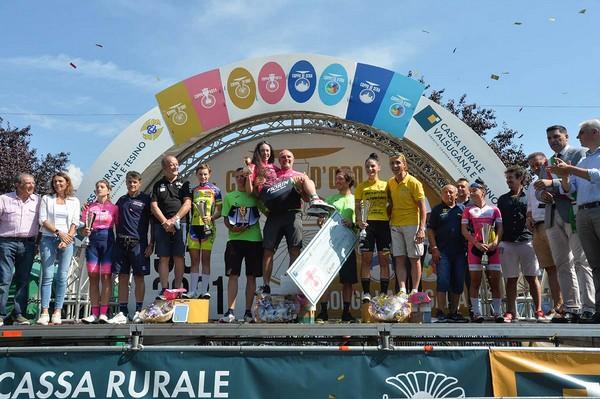 Il podio della Coppa Rosa 2021