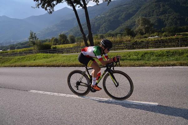 Linda Sanarini in azione (foto Daniele Mosna)