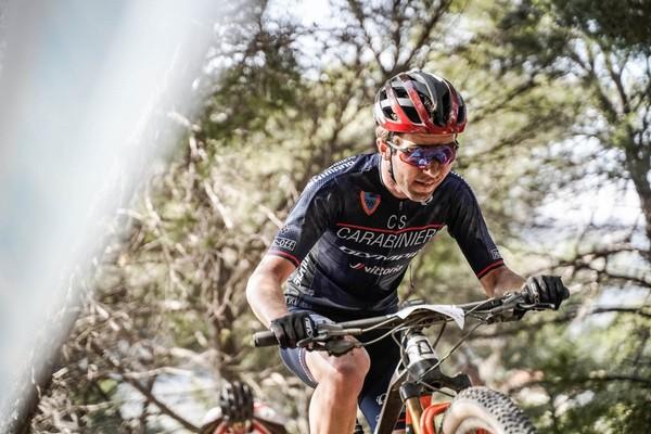 Emanuele Huez in azione ad Andora