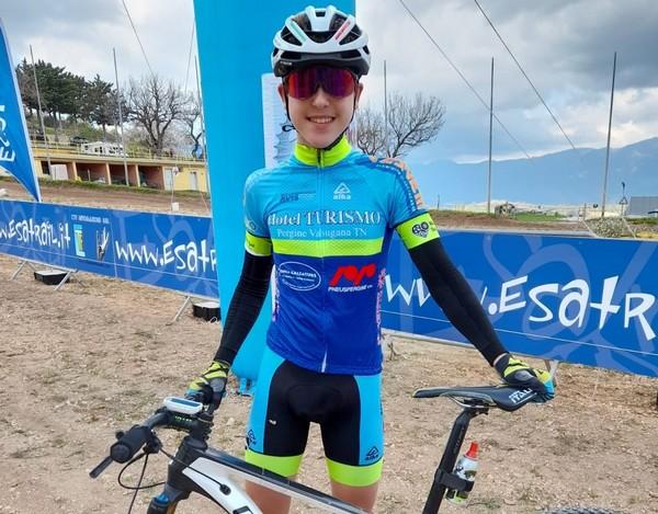 Il biker di Meano Mattia Stenico