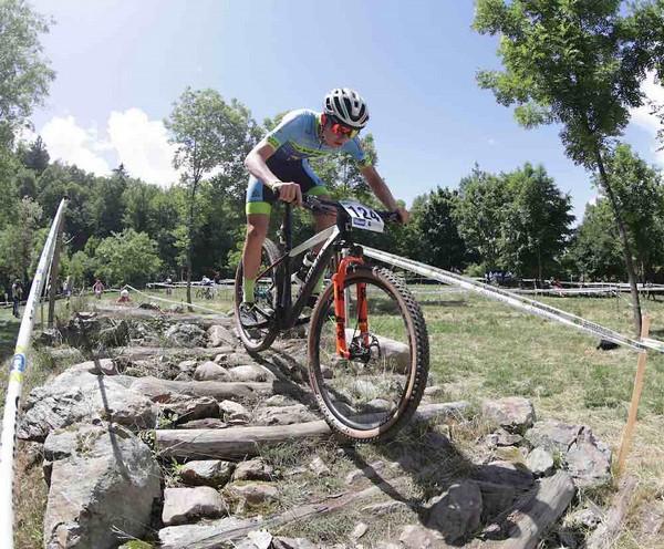 Mattia Stenico, campione italiano Allievi 1° anno (foto Newspower)