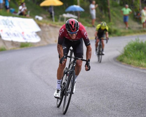 Gianni Moscon in azione