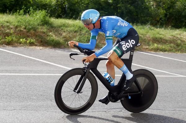 Davide Bais in azione (foto Eolo Kometa)