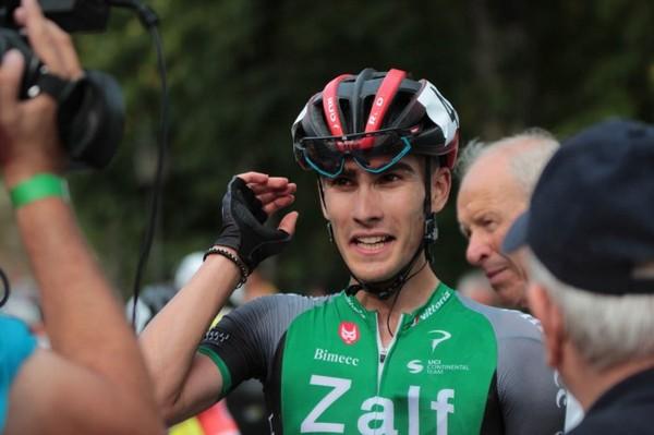 Edoardo Zambanini, al primo successo tra gli under 23