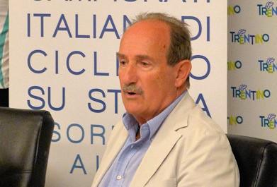 Dario Broccardo, presidente uscente del comitato trentino Fci