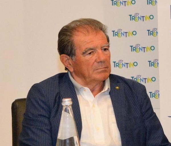 """Giuseppe """"Bepi"""" Zoccante, presidente del Cc Francesco Moser"""