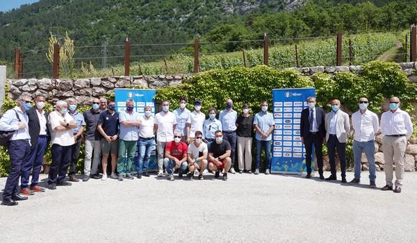 I nuovi tecnici delle varie discipline del Comitato Trentino Fisi