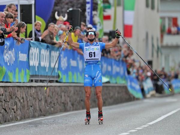 Il campione del mondo Emanuele Becchis (foto Newspower)