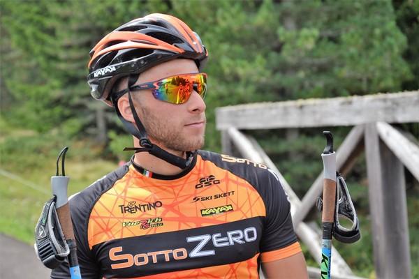 Tommaso Dellagiacoma del Sottozero Nordic Team