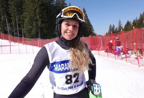 Camilla Vianello vincitrice del secondo slalom