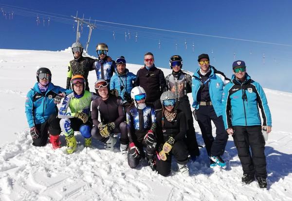 La nuova squadra del Comitato Trentino