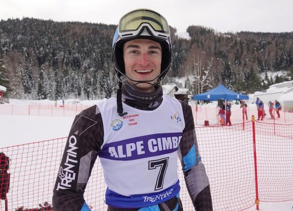 Giorgio Ronchi dell'Alpe Cimbra Racing Team