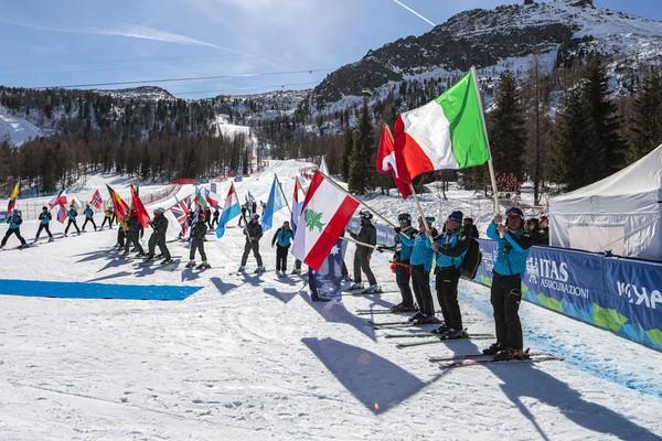 Il parterre della pista La VolatA nella giornata di chiusura dei mondiali junior