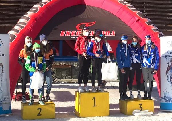 La squadra del Trentino sul terzo gradino