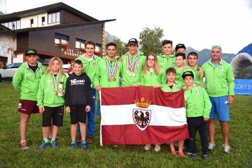 La squadra sci d'erba stagione 2019/2020