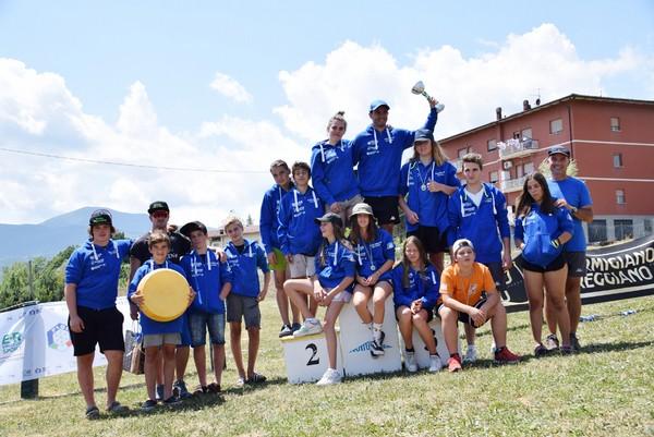 I ragazzi del Comitato Trentino sci d'erba
