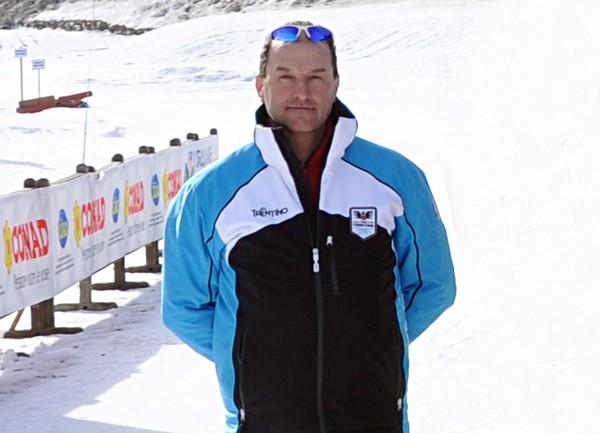 Il responsabile di settore Claudio Zanetel