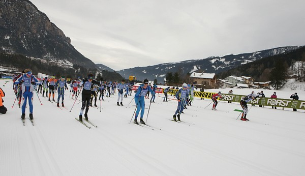 La partenza della gara ragazzi maschile (foto Newspower)