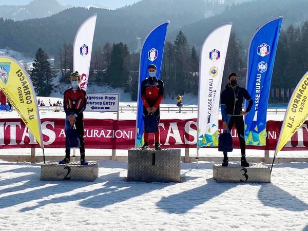 Podio Campionato Trentino under 18 maschile