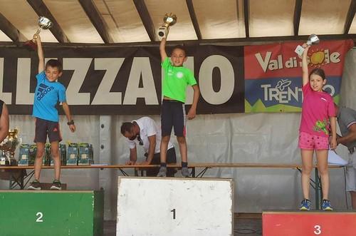 Il podio under 10 di salto