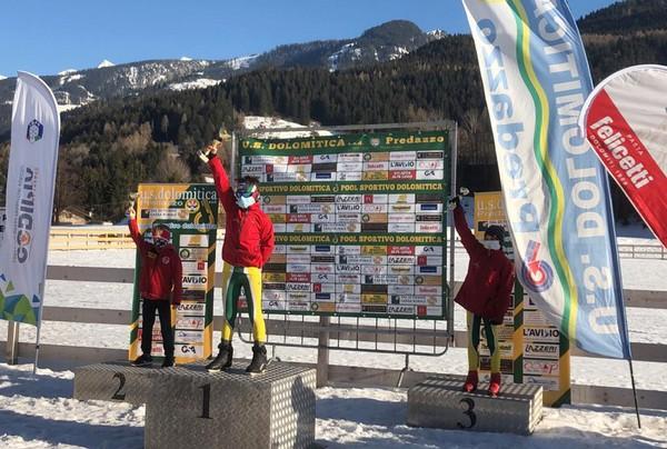 Il podio della categoria under 12