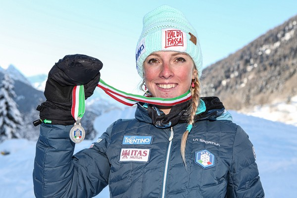 Giorgia Felicetti a medaglia (foto Merler)