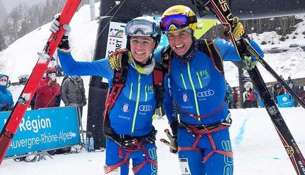 Davide Magnini e Michele Boscacci trionfatori al Mondiale Lunghe distanze