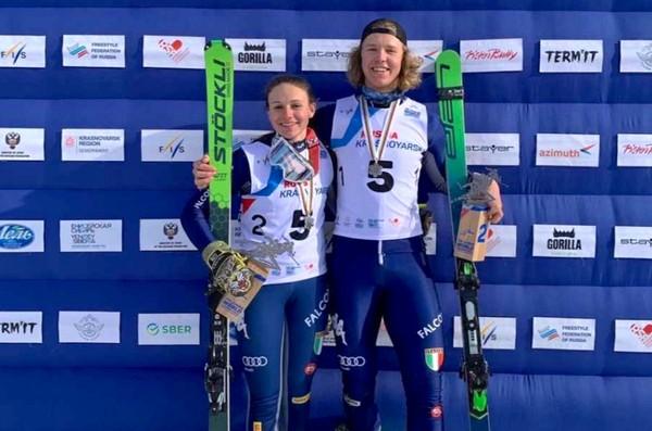 Andrea Chesi e Simone Deromedis, medaglia d'argento ai mondiali junior
